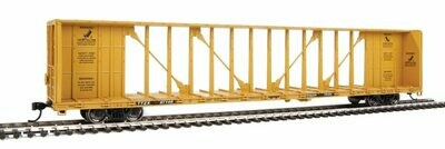 72' Centerbeam Flatcar with Standard Beam - Ready to Run -- Trailer-Train TTZX #87146