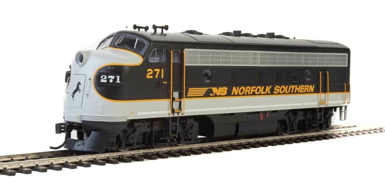 EMD F7 A - Standard DC -- Norfolk Southern #271 (Tuxedo: black, Imitiation Aluminum, Dulux Gold)