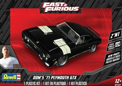 1/24 Dom's Plymouth GTX 2'N1