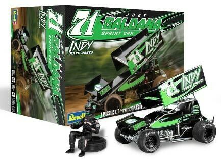 1/24 Joey Saldana #71 Indy Race Parts Sprint Car