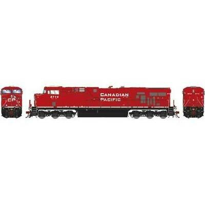 HO ES44AC w/DCC & Sound, CPR/Retrucked #8714