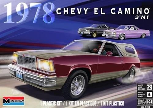 1/24 1978 Chevy El Camino 3'N1