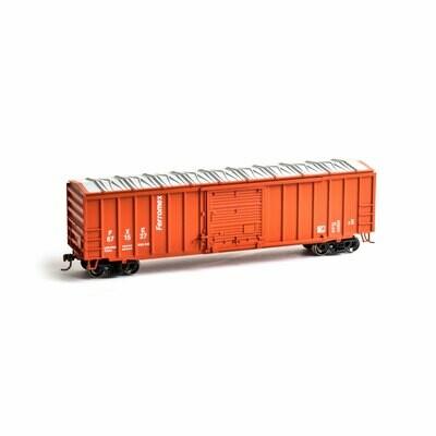 HO 50' ACF Outside Post Box, Ferromex #871527