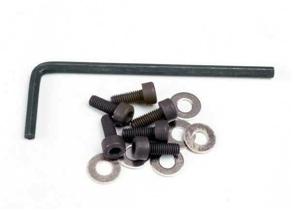 3x8mm Hex Cap Screws