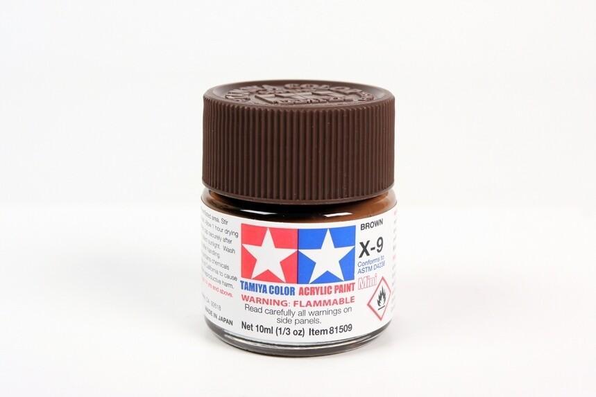 Acrylic Mini X9, Brown