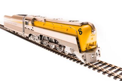 HO L-1 4-6-4 w/DCC & Paragon 3, C&O/Yellow #491