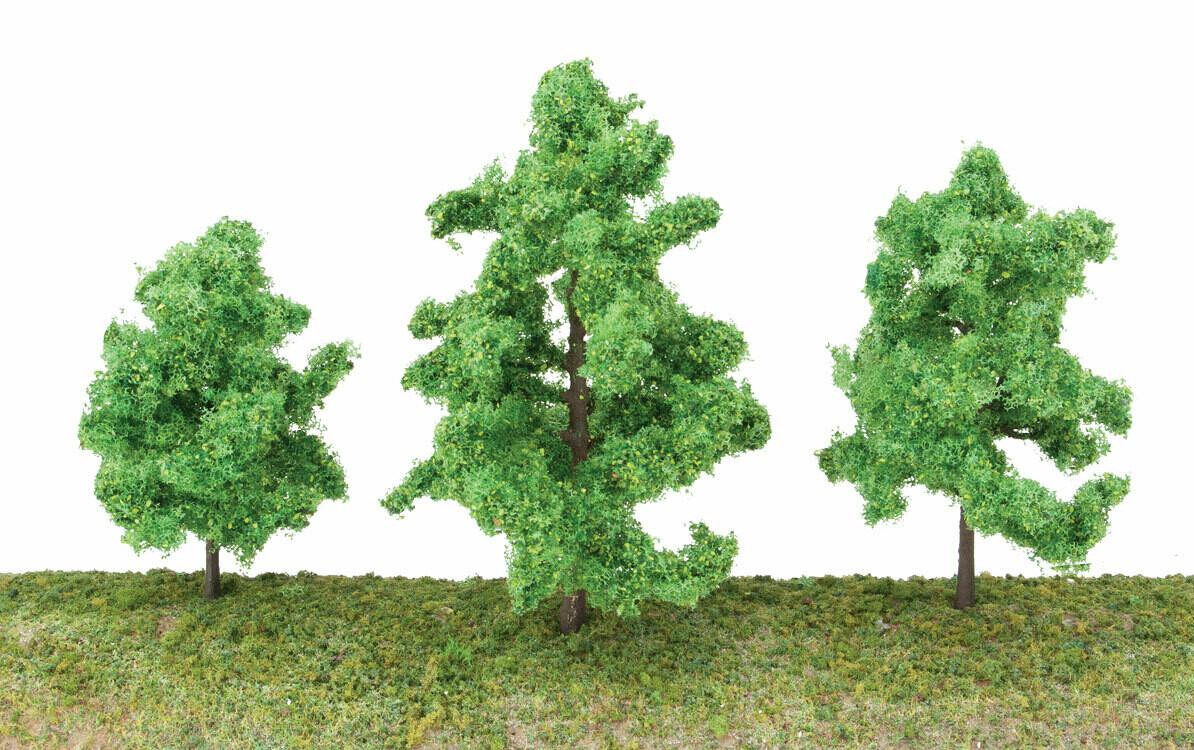 "Spring Trees 3 3/8"" 10"