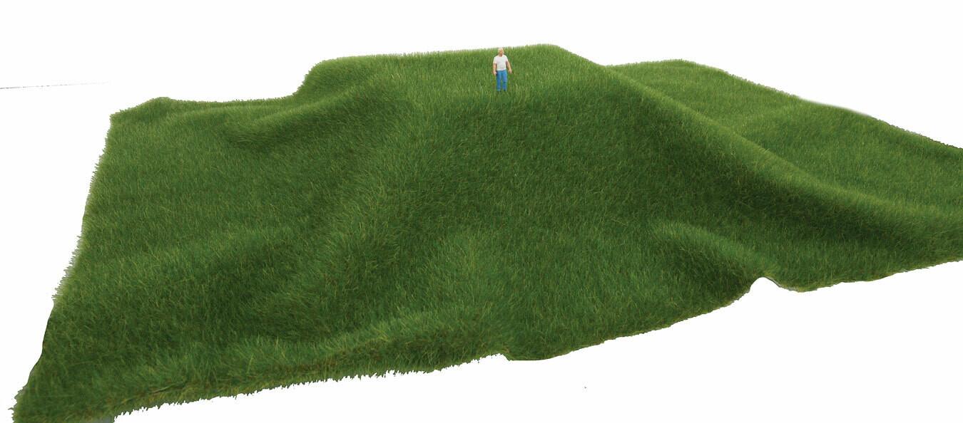 Grass Mat Dark Grn Short