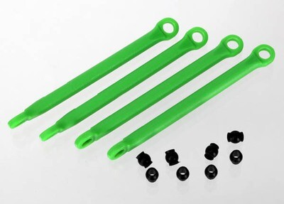 7118G - Push rod (molded composite) (green) (4)/ hollow balls (8)