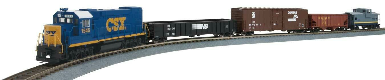 Flyer Express Train Set - Standard DC -- CSX Transportation