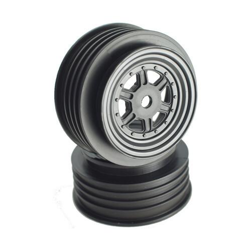 Gambler Front Wheels with 12mm Hex / TLR Offset / BLACK