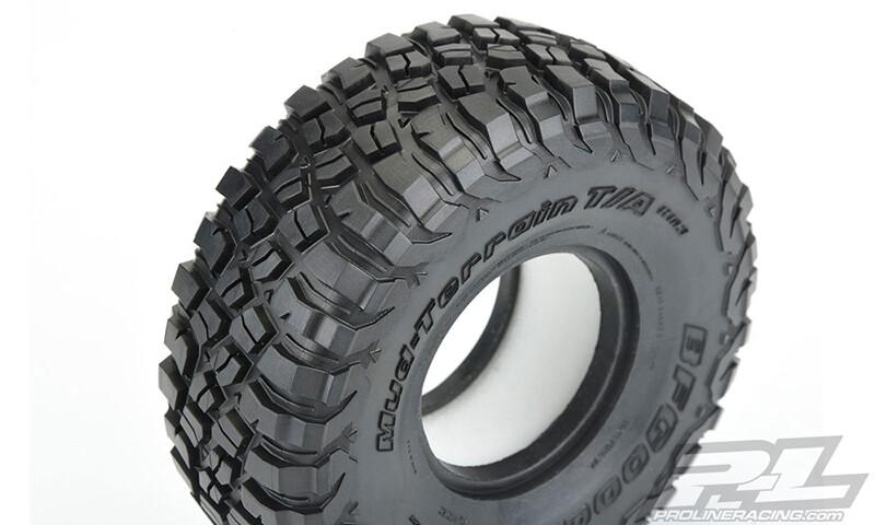 """BFGoodrich Mud-Terrain T/A KM3 1.9"""" G8 Rock Terrain Truck Tires, w/ Foam Inserts (2pcs)"""