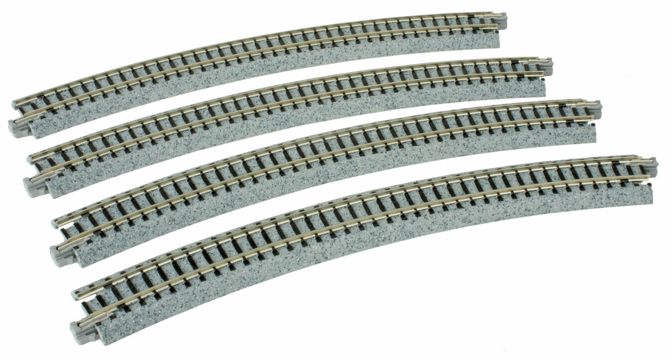 N Unitrack Curved 30 Section 4 Pack 2