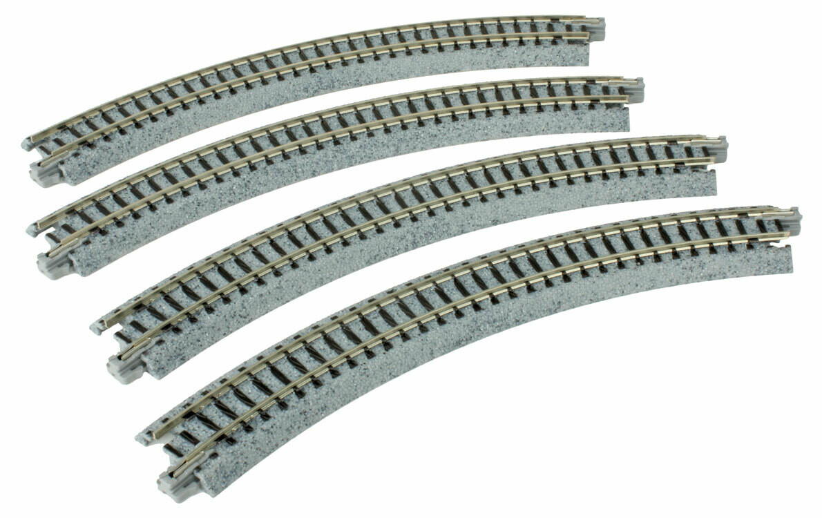 Curved Roadbed Track Section - Unitrack