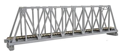 """N 248mm 9-3/4"""" Truss Bridge, Silver"""