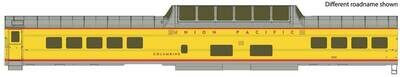 85' ACF Dome Coach Union Pacific(R) Heritage Fleet - Ready to Run - Lighted -- Union Pacific UPP #7001
