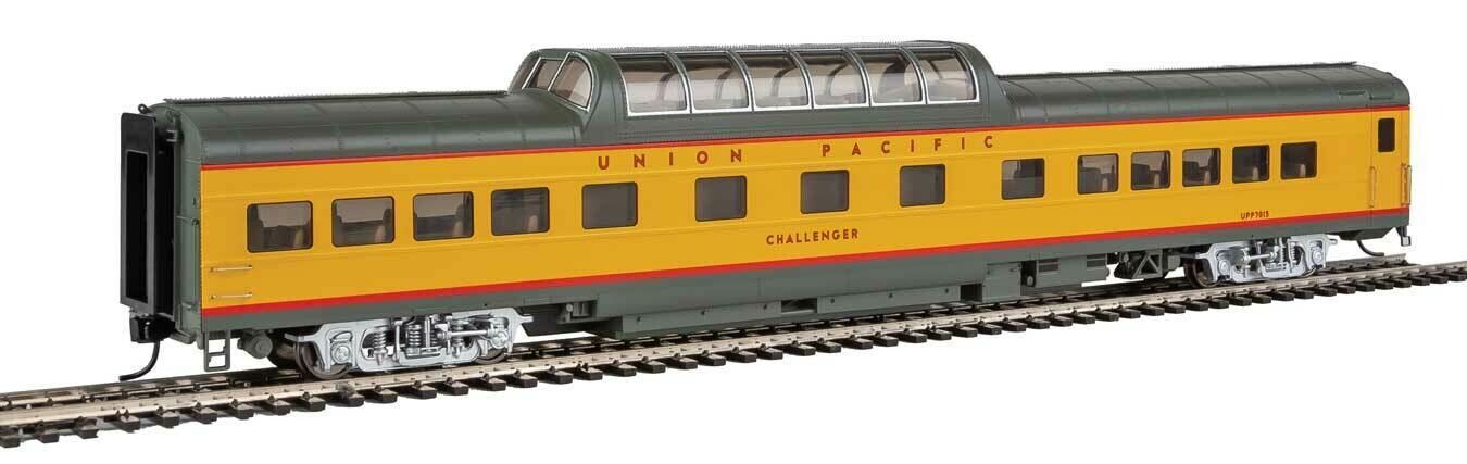 85' ACF Dome Coach Union Pacific(R) Heritage Fleet - Ready to Run - Lighted -- Union Pacific UPP #7015