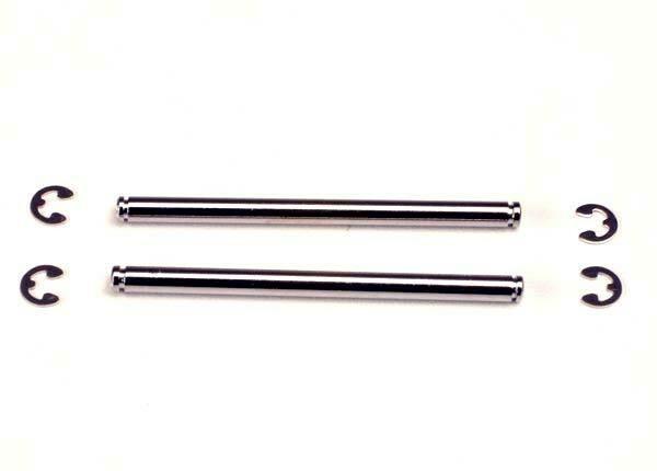 Suspension pins, 48mm (2) w/ E-clips  @