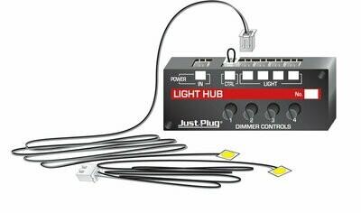 JUST PLUG LIGHTS& HUB SET