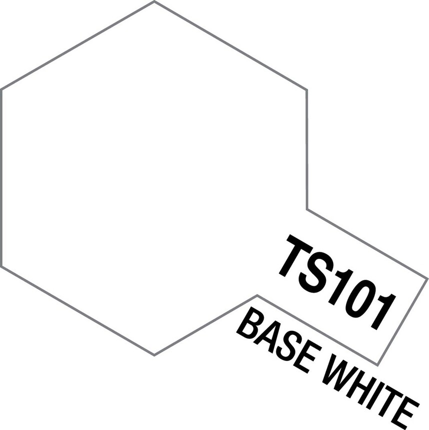 TS-101 Base White 100ml Spray Can