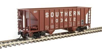 34' 100-Ton 2-Bay Hopper - Ready to Run -- Southern Railway #103412 (Brown)