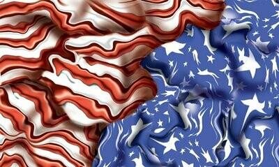 Body Skin Custom Transfer, Freedom Flag