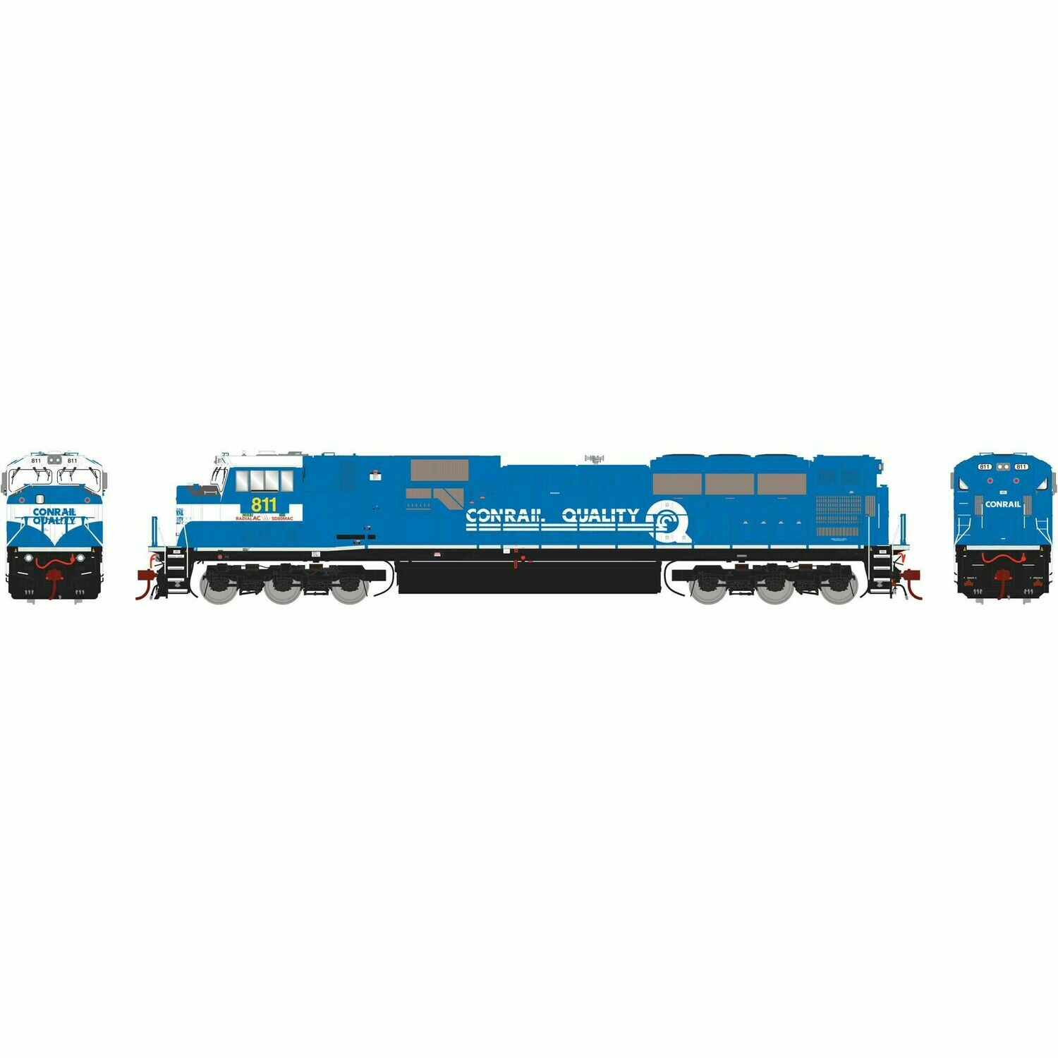 HO SD80MAC w/DCC & Sound, CSXT #811