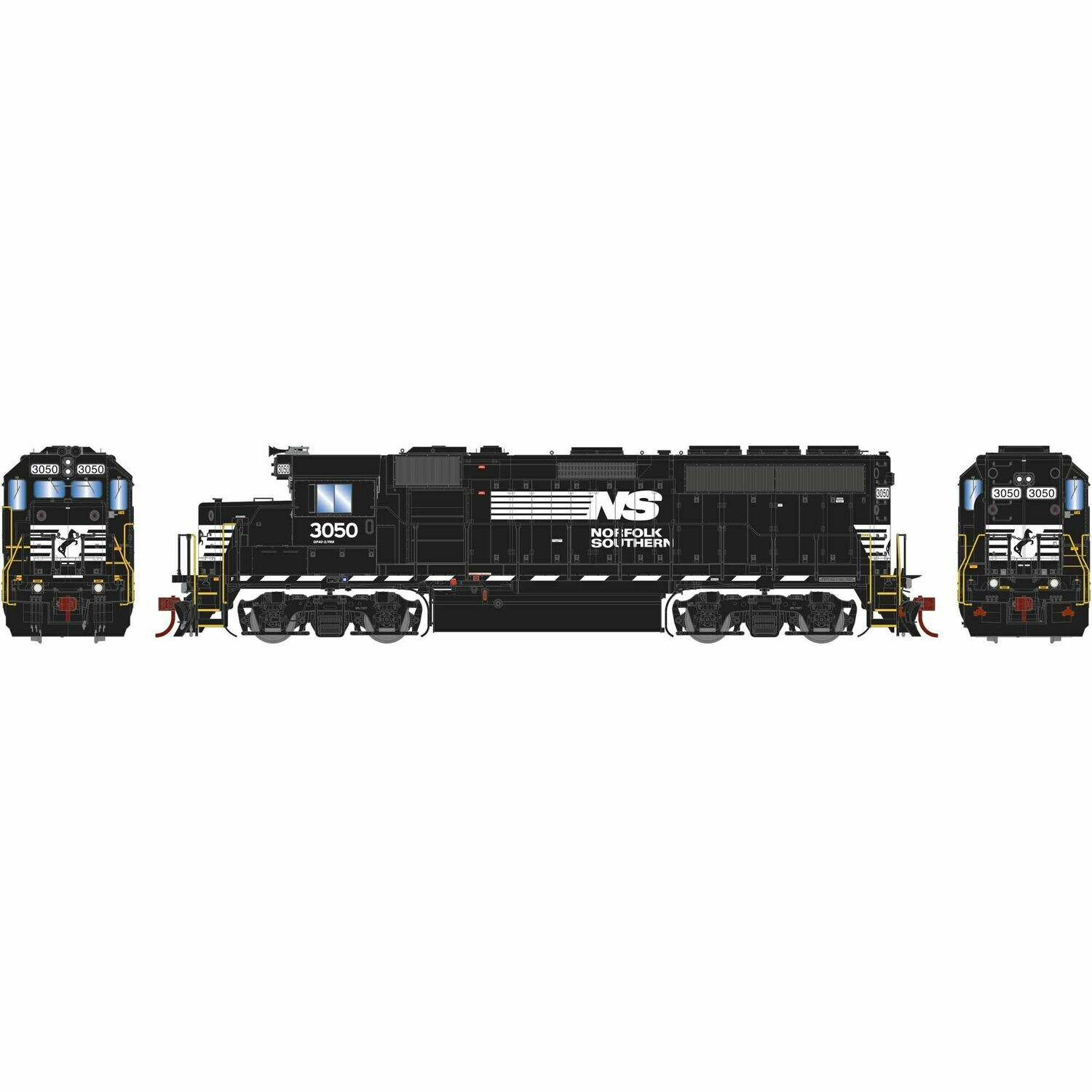 HO GP40-2 w/DCC & Sound, NS #3050