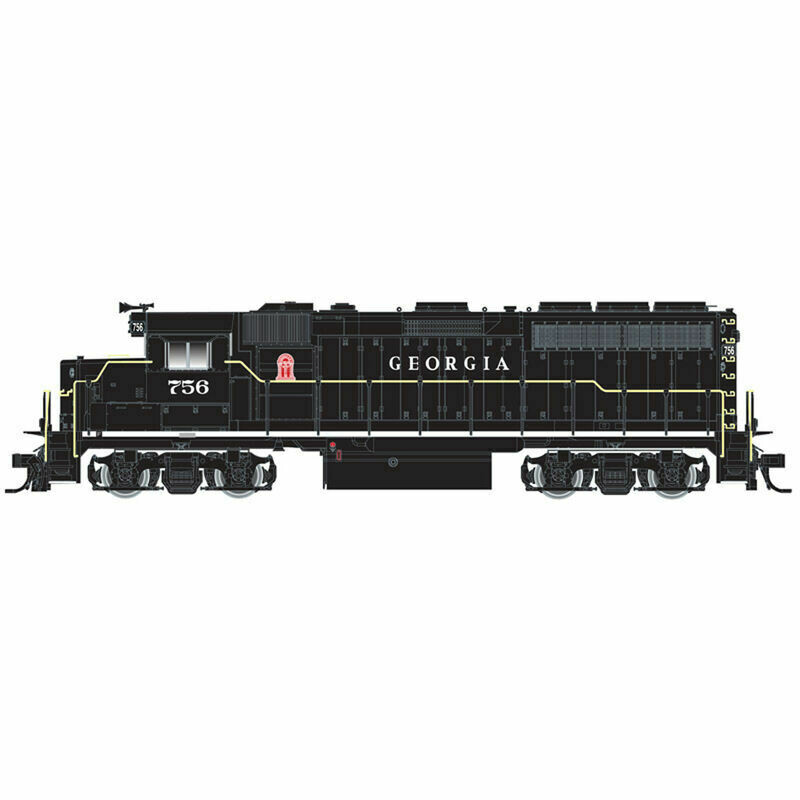 HO GP40, Georgia Railroad #754