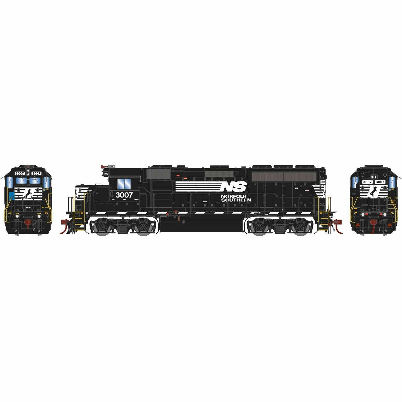 HO GP40-2 w/DCC & Sound, NS #3007
