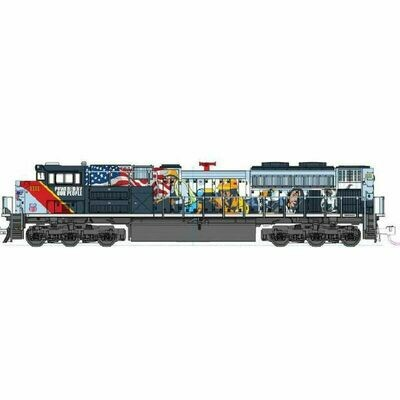 """N EMD SD70ACe Union Pacific #1111 """"PBOP"""""""