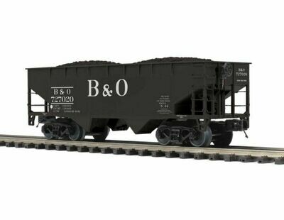 O Flat End Offset Hopper Car , B&O #727020