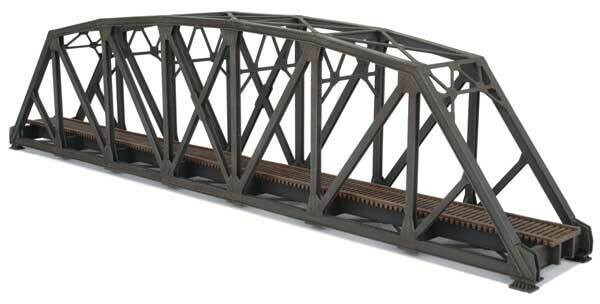 N Single-Track Arched Pratt Truss Bridge -- Kit