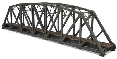 N Single-Track Arched Pratt Truss Bridge -- Kit