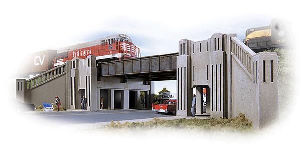 Highway Underpass ArtDeco 2