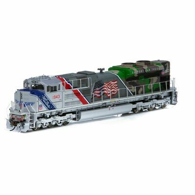 HO SD70ACe w/DCC & Sound, UP/Spirit of UP #1943