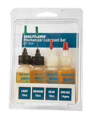Walthers Lubricant Set