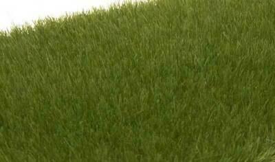 Static Grass, Dark Green 4mm
