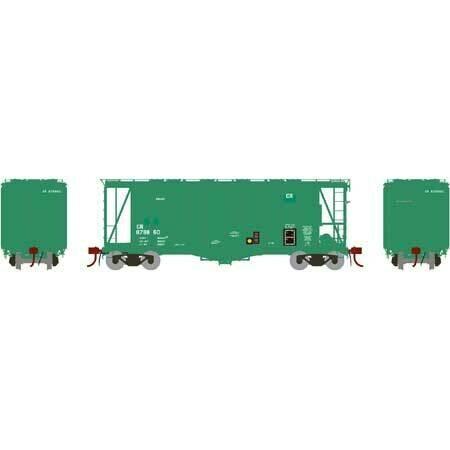 HO GATC 2600 Airslide Hopper, CR #878860