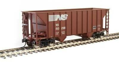 34' 100-Ton 2-Bay Hopper - Ready to Run -- Norfolk Southern #150298