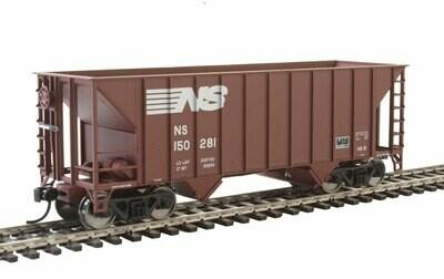 34' 100-Ton 2-Bay Hopper - Ready to Run -- Norfolk Southern #150281