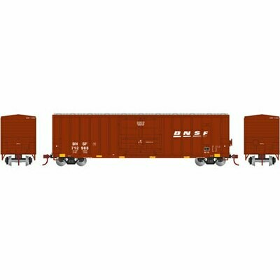 HO RTR 50' FMC Superior Plug Door Box,BNSF #712988