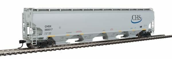 Walthers Proto 67' 4 Bay Covered Hopper CHS #580017