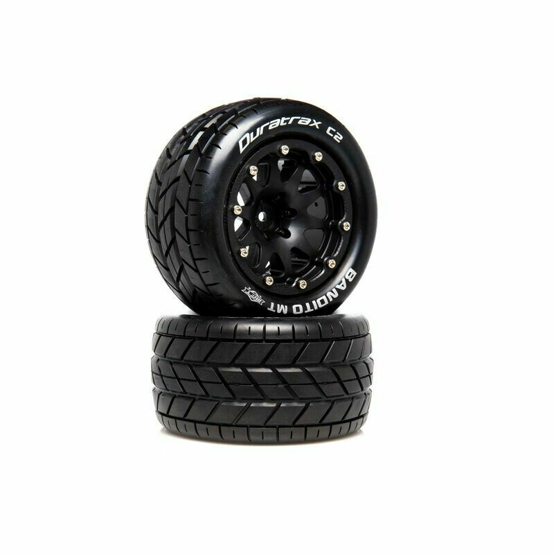 Bandito MT Belted 2.8 Mounted F/R .5 Offst Blk(2)