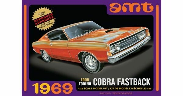 1/25 1969 Ford Torino Cobra Fastback