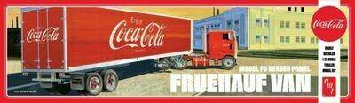 1/25 Fruehauf Beaded Van Semi Trailer, Coca-Cola