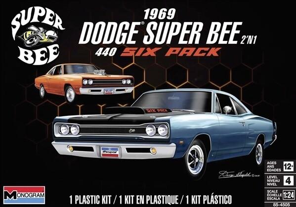 1/24 69 Dodge Superbee 2n1