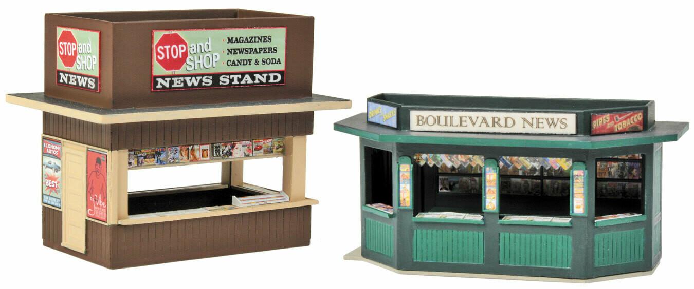 HO Newsstand Kits 2