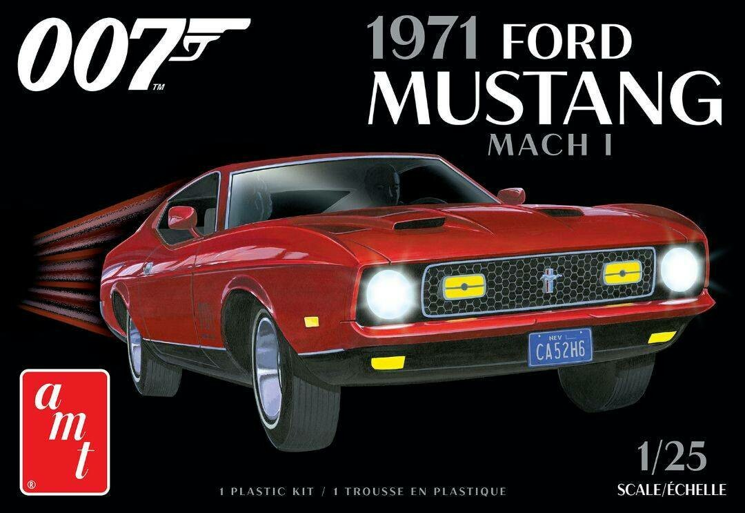 1/25 James Bond 1971 Ford Mustang Mach I