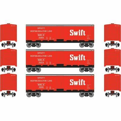 HO 40' Steel Reefer, Swift (3)